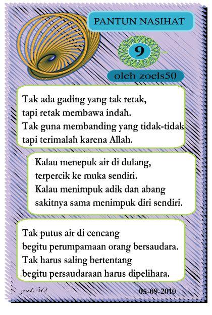 Pantun Nasihat 9 | Mekarina Studio